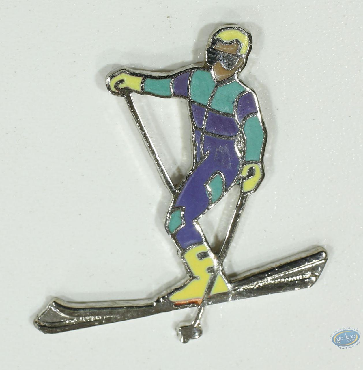 Pin's, Skier