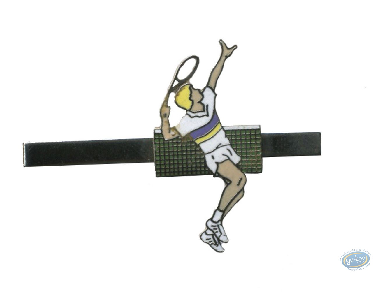 Clothes, Tennis player - tie bar
