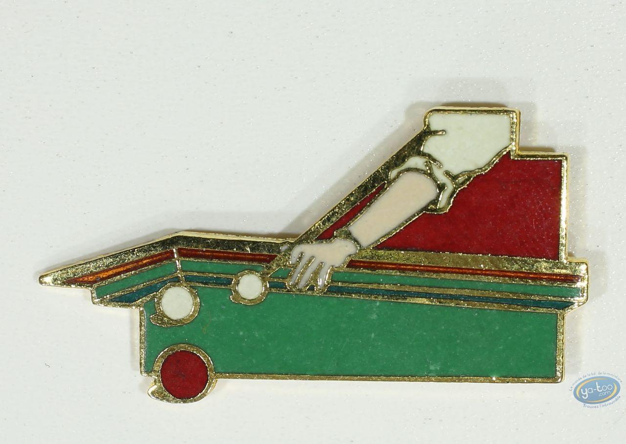 Pin's, Billiard table