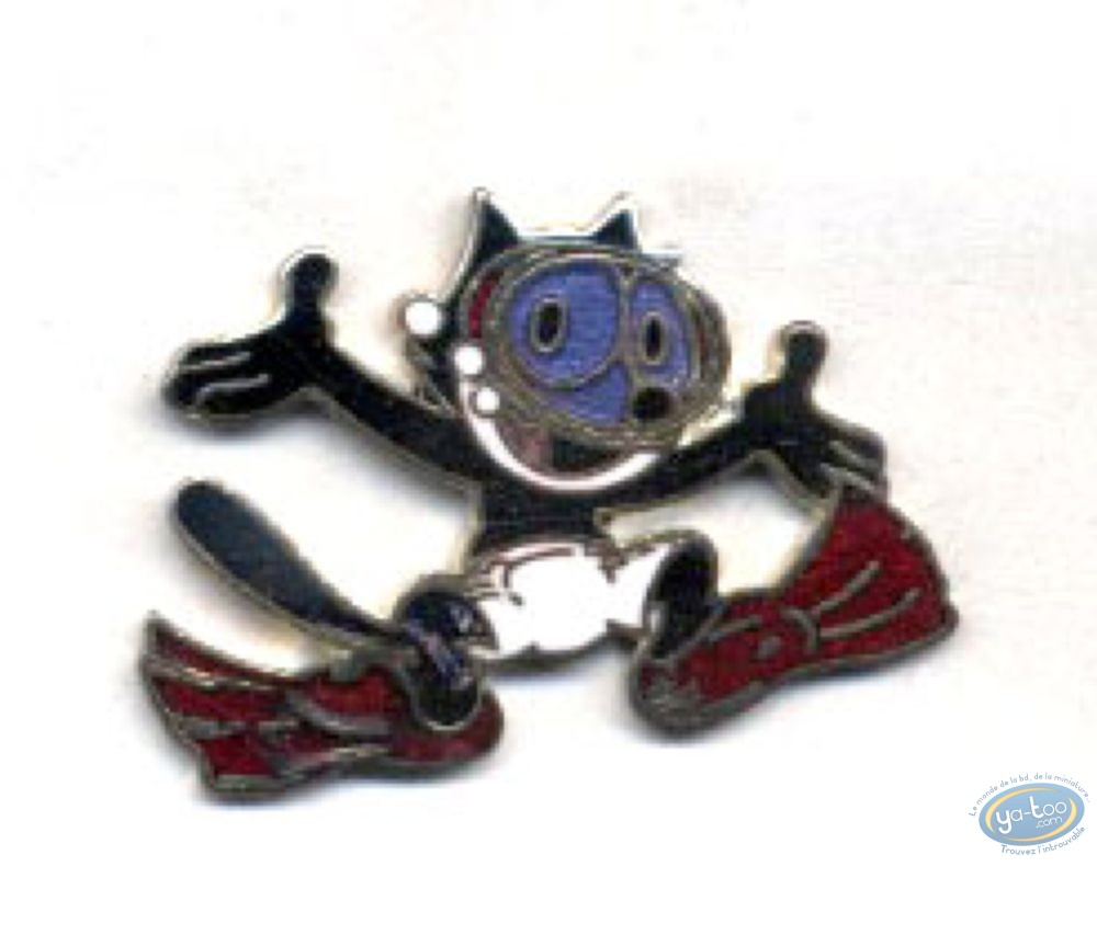 Pin's, Félix le Chat : Felix the Cat made by the dive