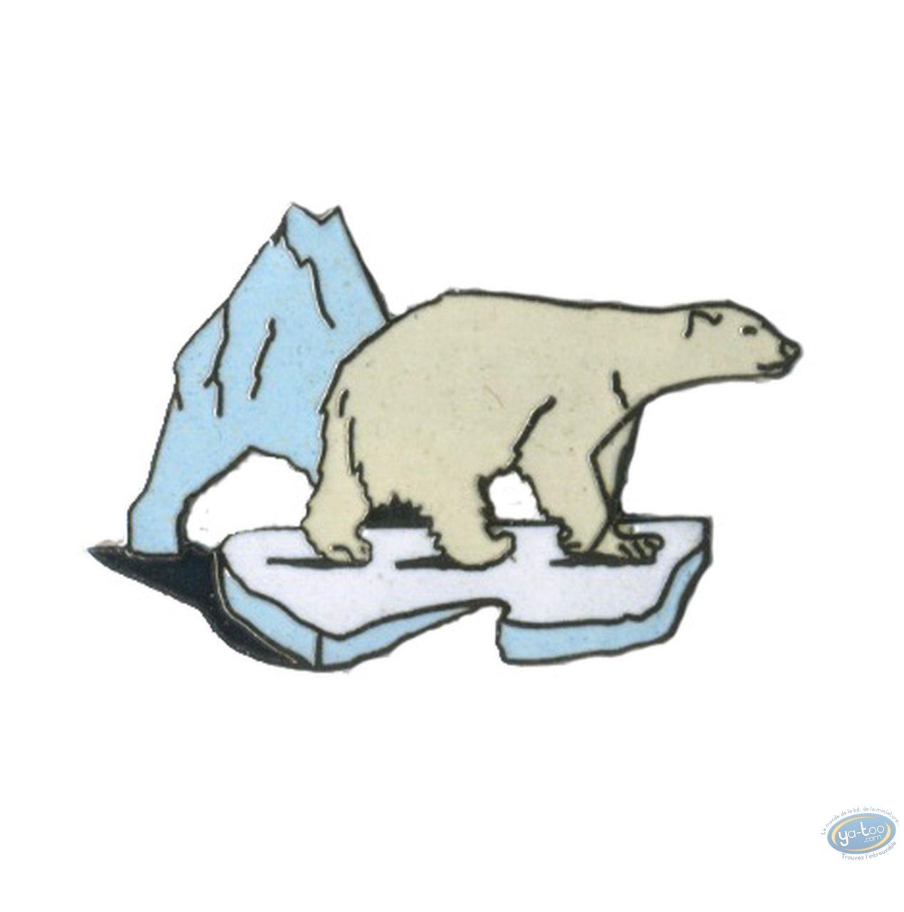 Pin's, Polar bear on piece of ice