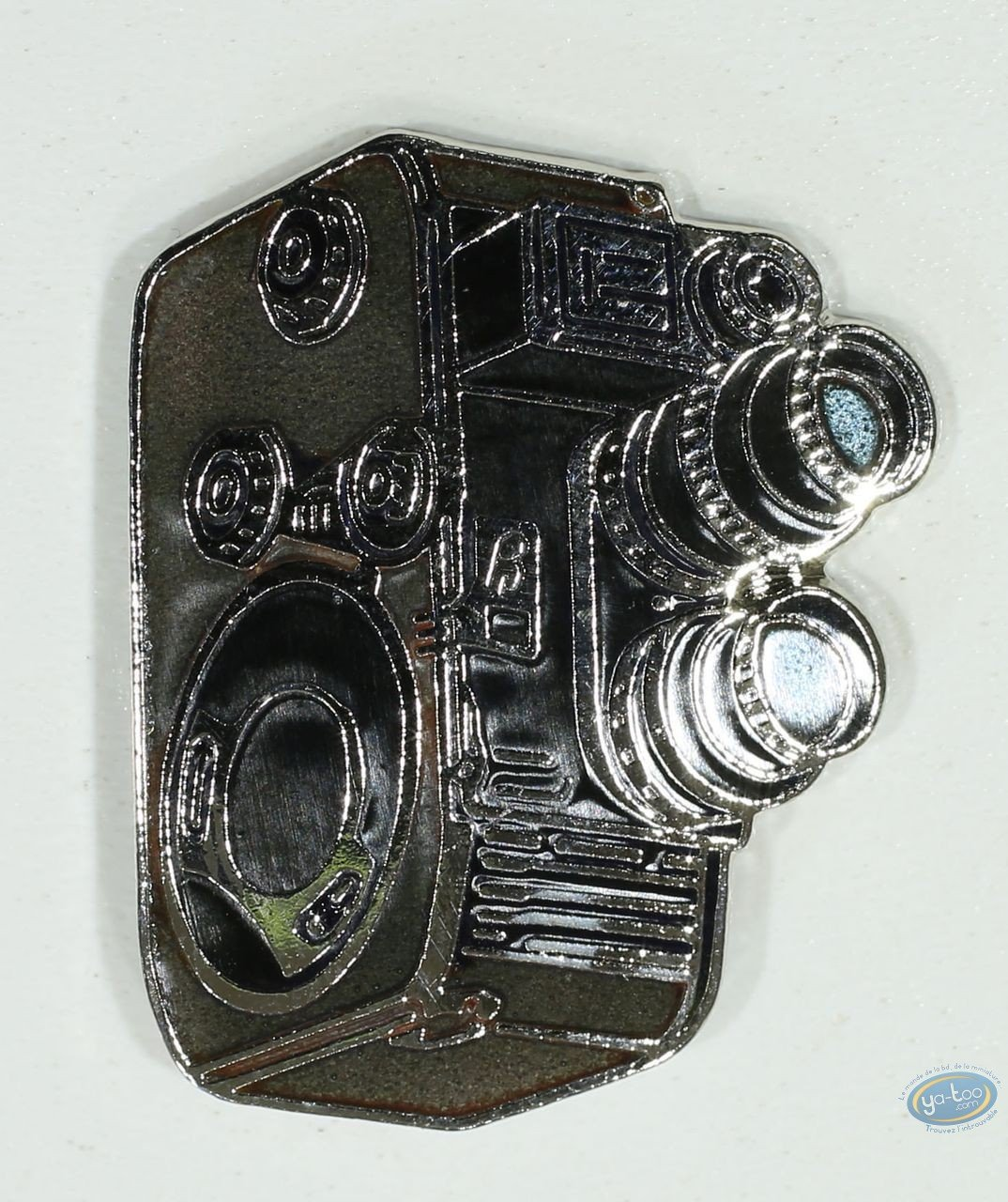 Pin's, Camera with double vertical objectives