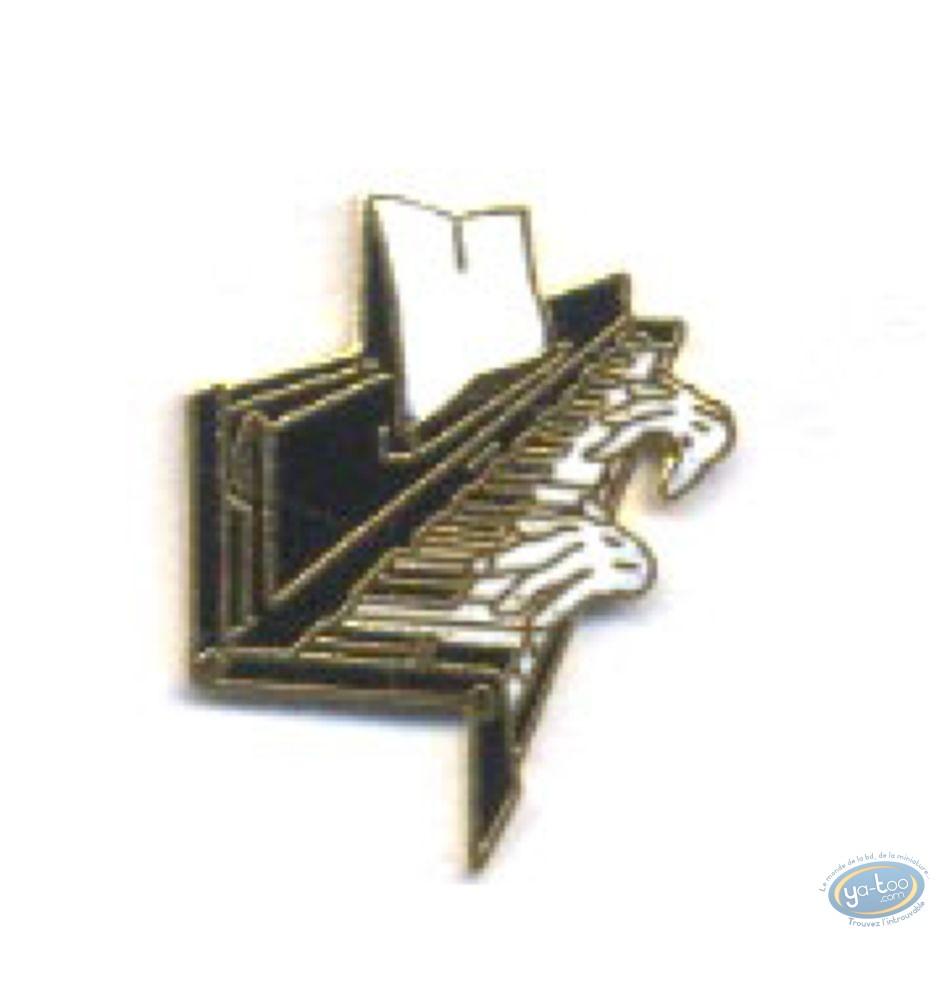 Pin's, Piano + hands