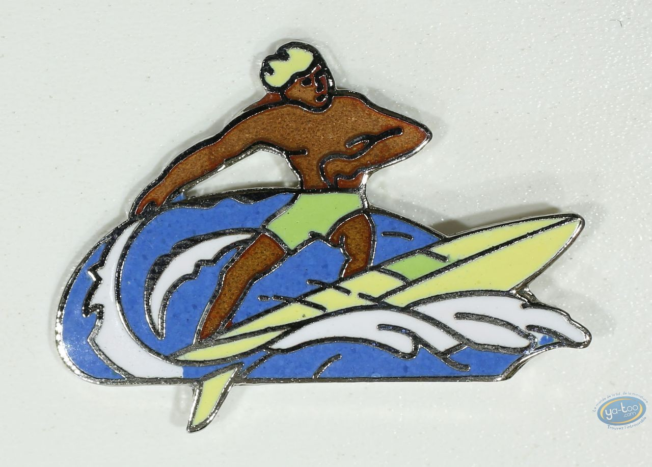 Pin's, Surfer