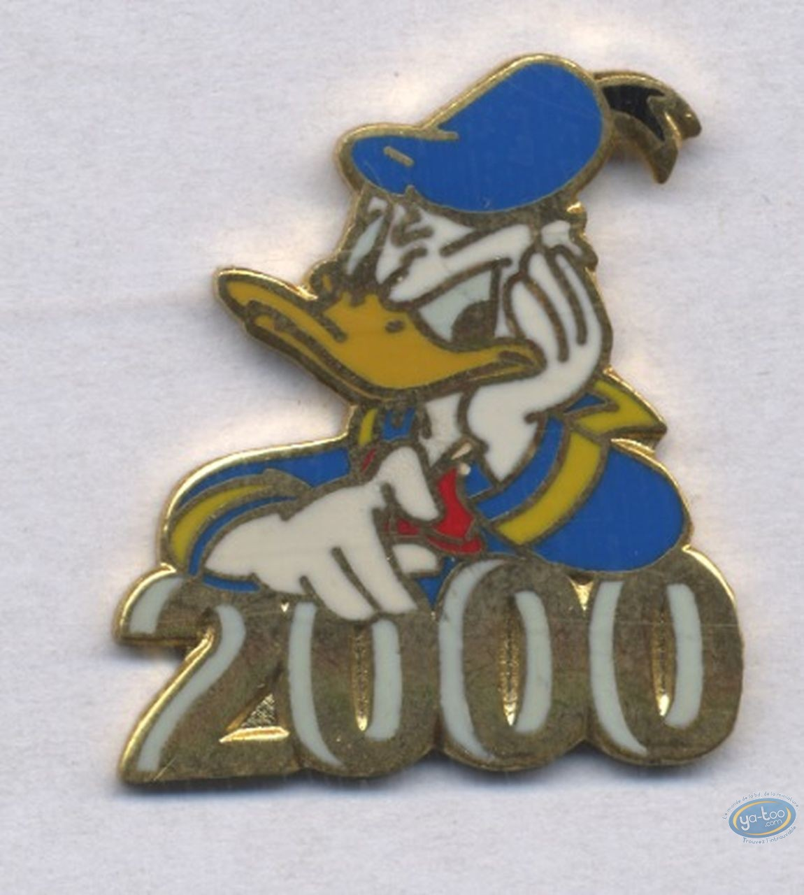 Pin's, Mickey Mouse : Donald : Year 2000, , Disney