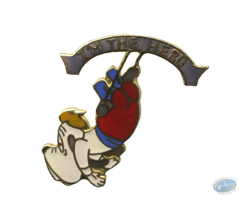 Pin's, Tex Avery : Droopy trapeze - Tex Avery