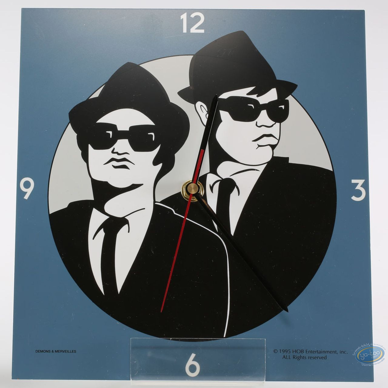 Clocks & Watches, Blues Brothers : Clock, Blues Bothers
