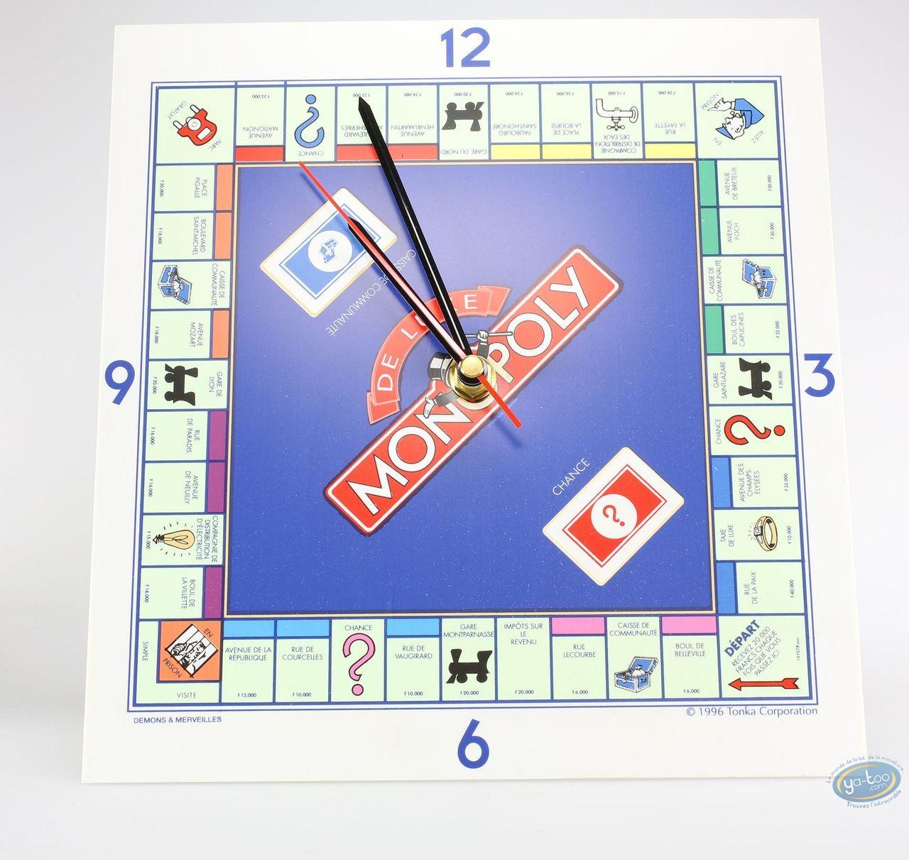 Clocks & Watches, Monopoly : Clock, Monopoly