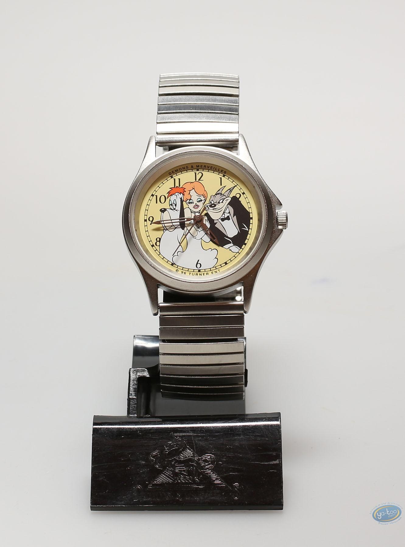 Clocks & Watches, Tex Avery : Watch, Tex Avery : metal strap