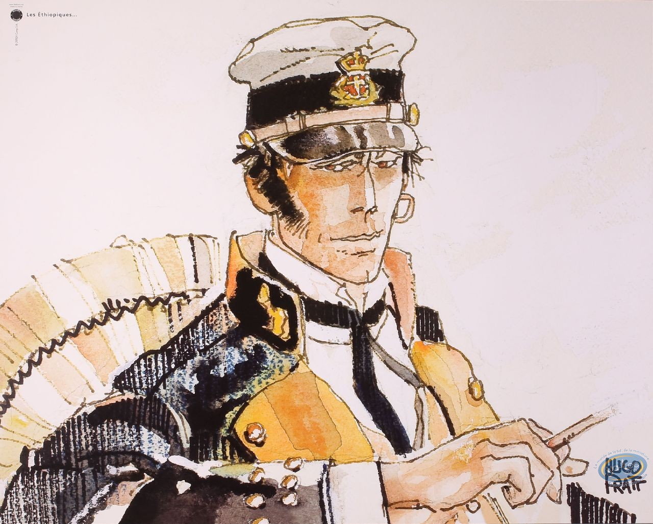 Offset Print, Corto Maltese : The Ethiopiques