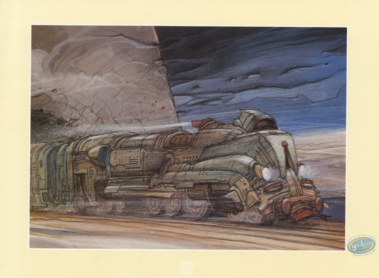Bookplate Offset, Nikopol : Train (small)