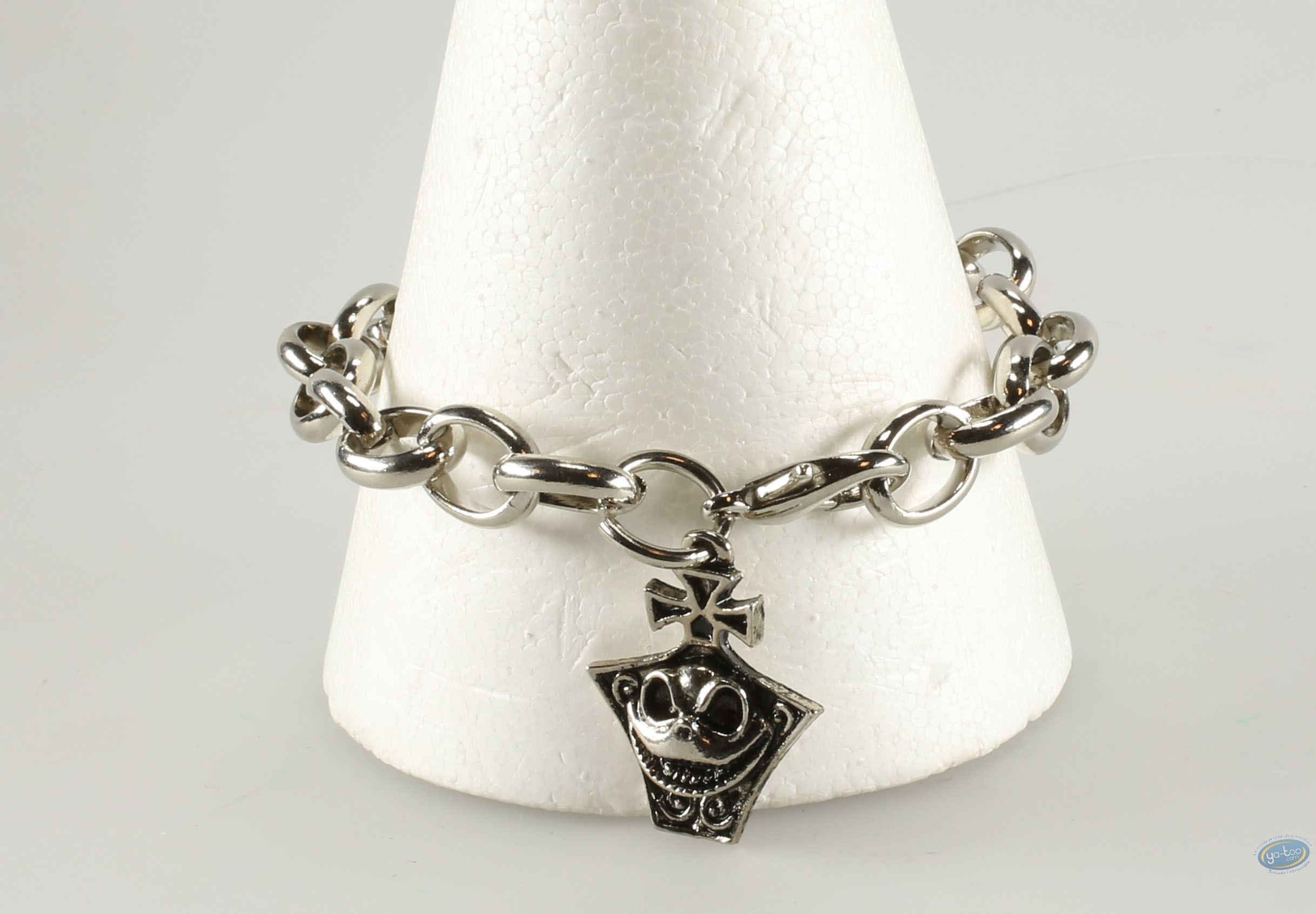 Costume jewelry, Etrange Noël de Mr. Jack (L') : Metal bracelet, The Nightmare Before Christmas Jack