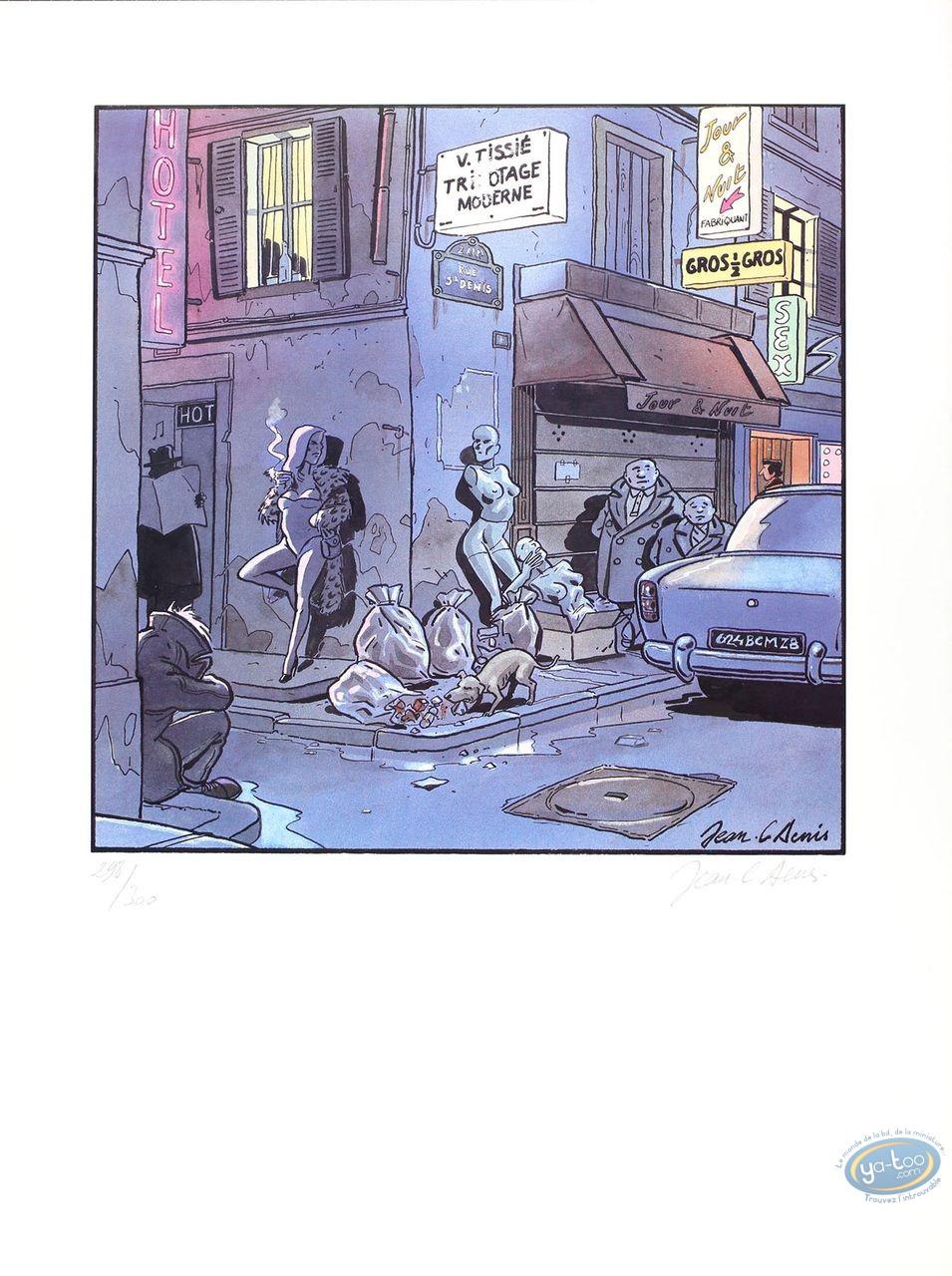 Offset Print, Denis, Rue St Denis