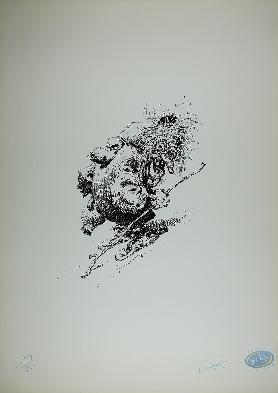 Offset Print, Idées Noires : Old Witch