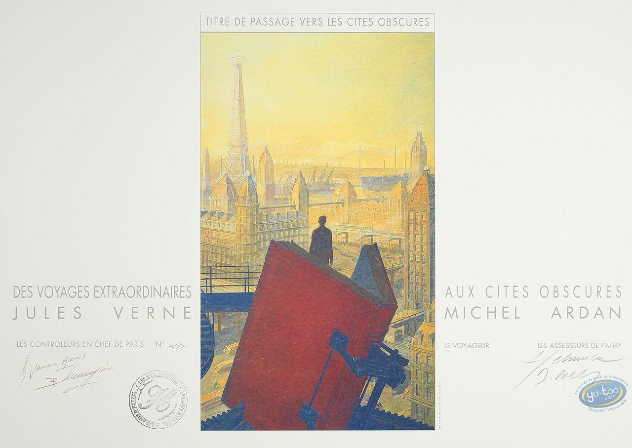 Offset Print, Cités Obscures (Les) : Des Voyages Extraordinaires aux Cites Obscures