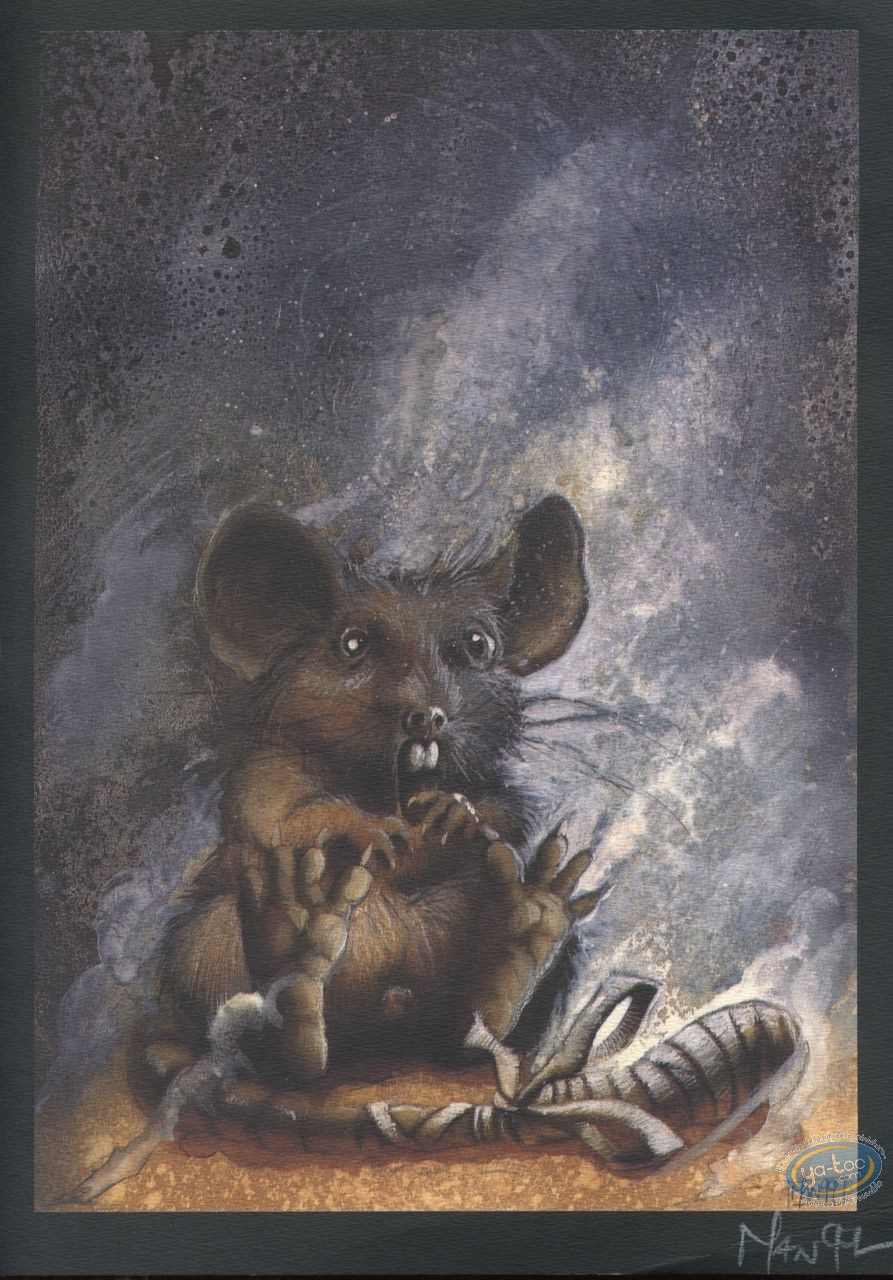Bookplate Offset, Graine de Folie (La) : Mouse (little mark)