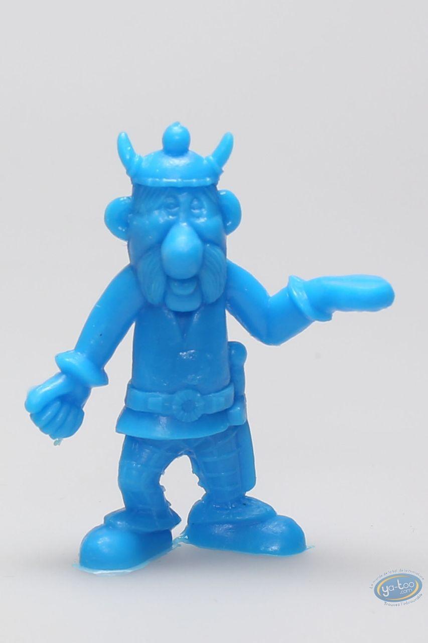 Plastic Figurine, Astérix : Mini Bulwark Holder (helmet with horns / blue)