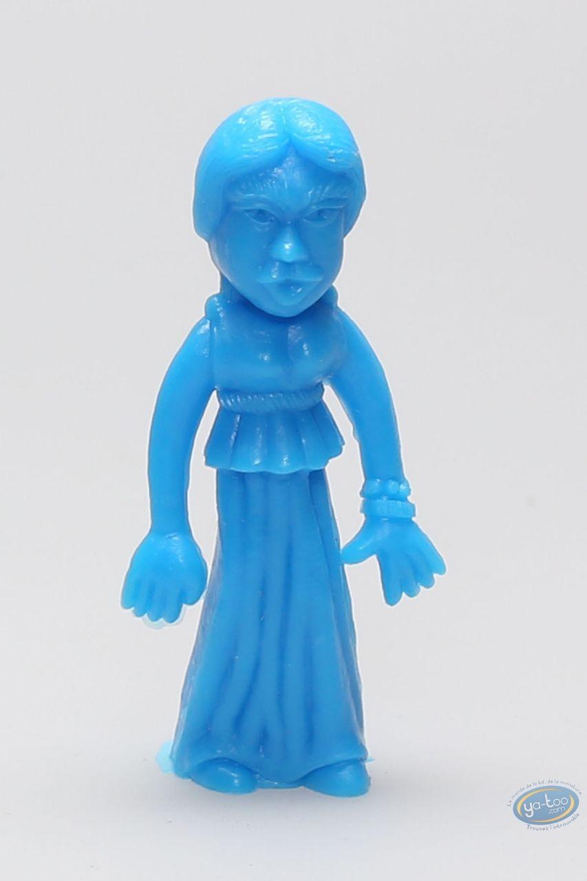 Plastic Figurine, Astérix : Mini Oman woman (blue)