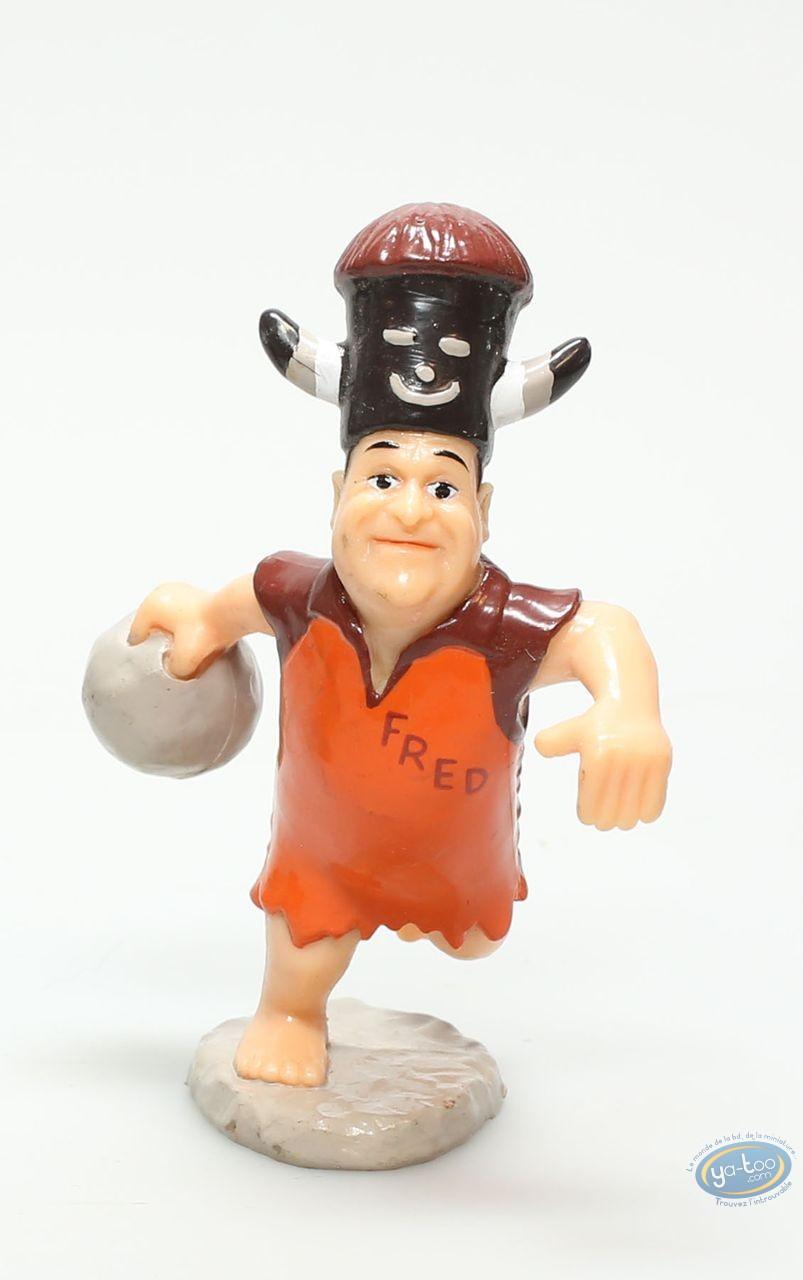 Plastic Figurine, Pierrafeu (Les) : Fred bowling