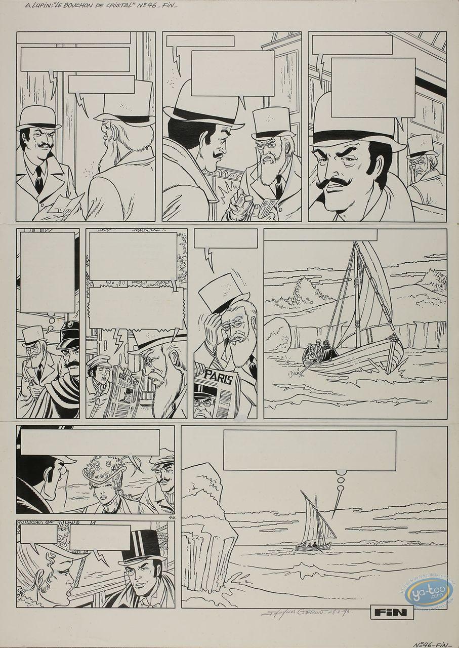 Originals, Arsène Lupin : Le Bouchon de Cristal page 46