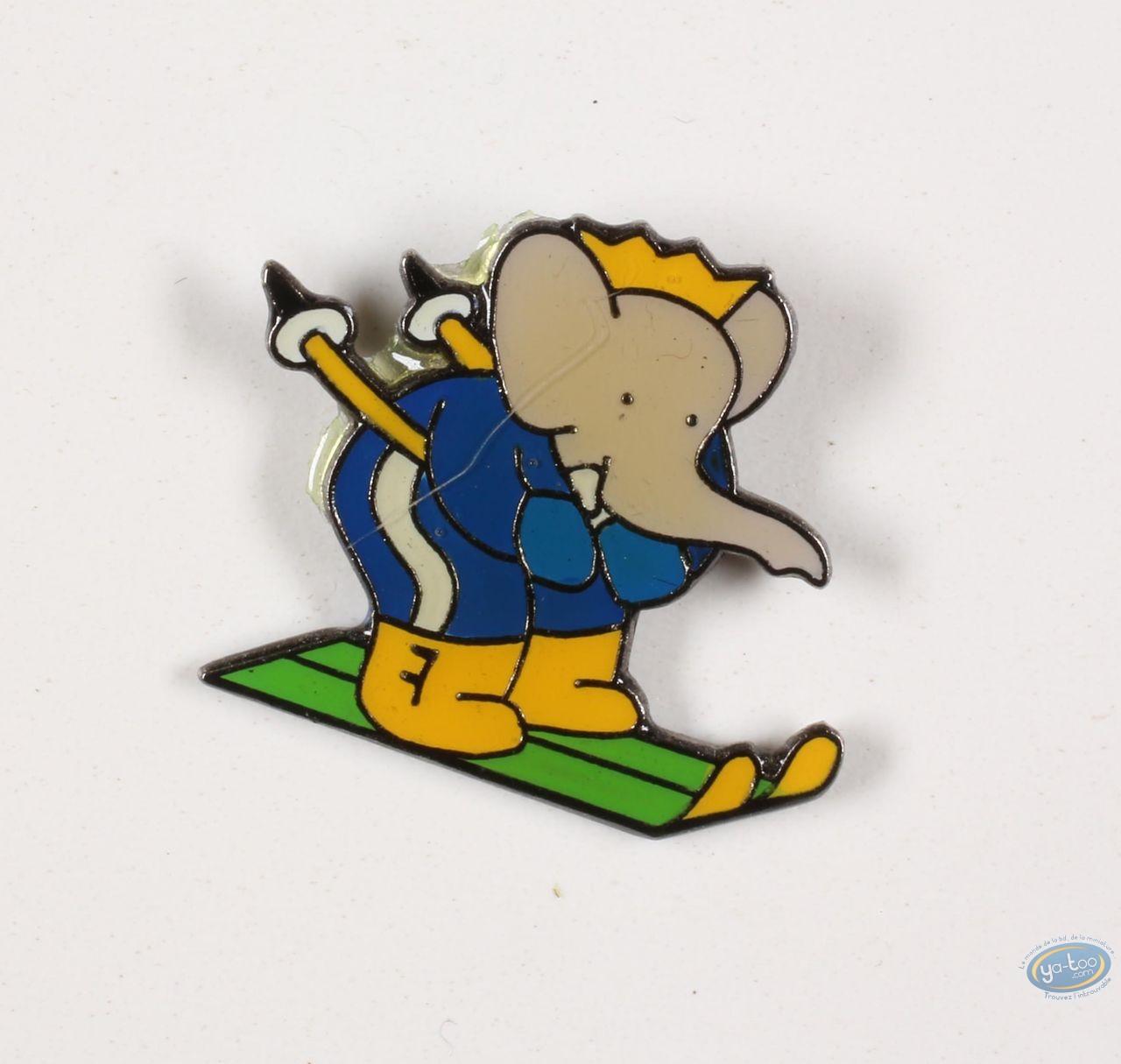 Pin's, Babar : Babar in ski