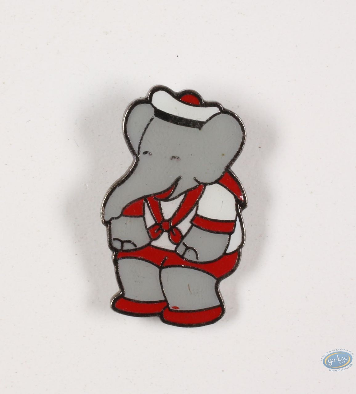 Pin's, Babar : Babar in suit of sailor