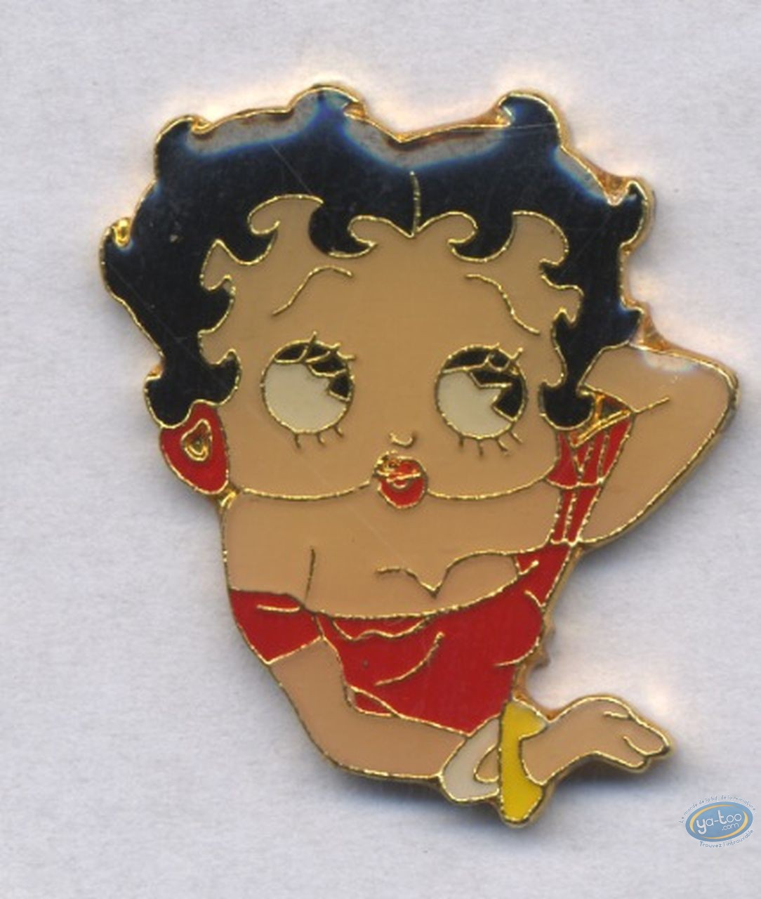 Pin's, Betty Boop : Pin's, Betty Boop : Portrait