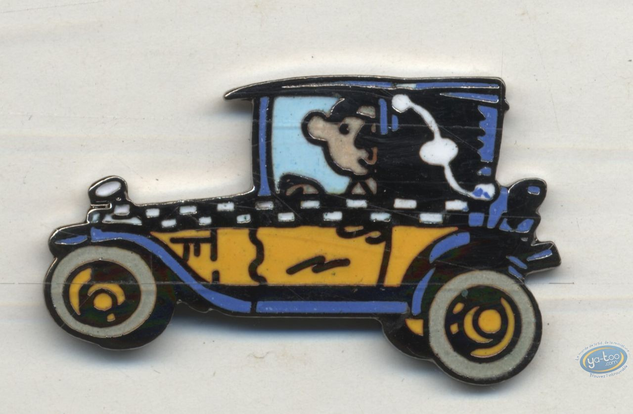 Pin's, Gaston Lagaffe : Pin's, Franquin, Gaston : Car 1