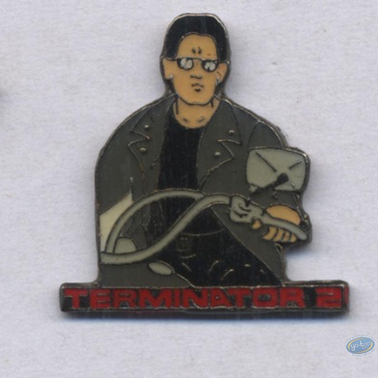 Pin's, Terminator : Pin's, Terminator