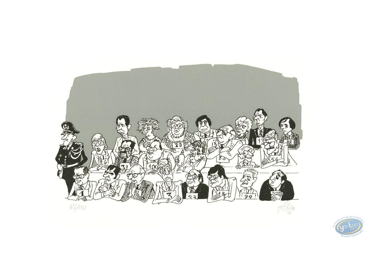 Serigraph Print, Jury (variant)
