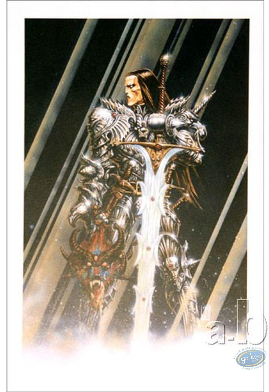 Offset Print, Warrior