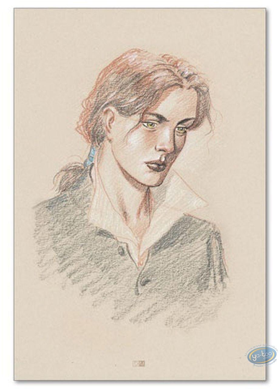 Offset Print, Plume aux Vents : Ariane de Troïl portrait