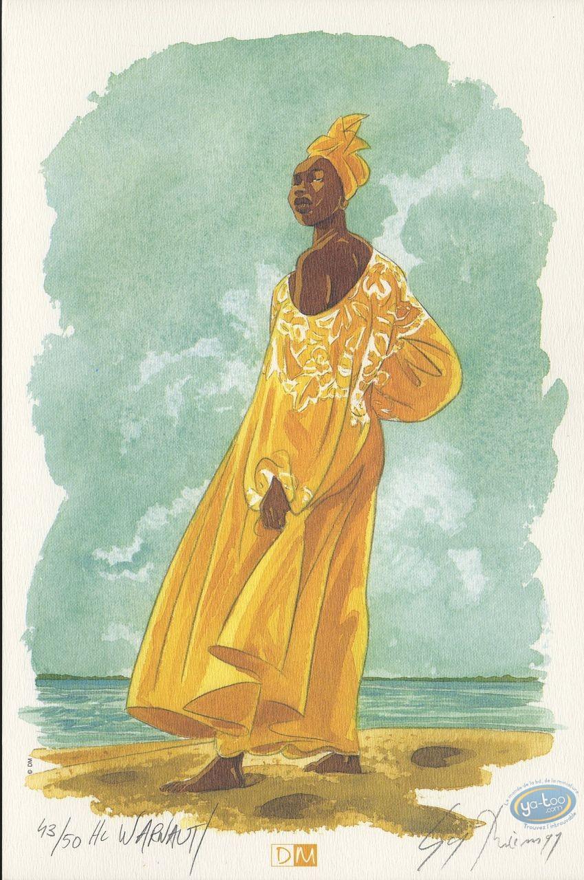 Bookplate Offset, Suites Vénitiennes (Les) : African Woman
