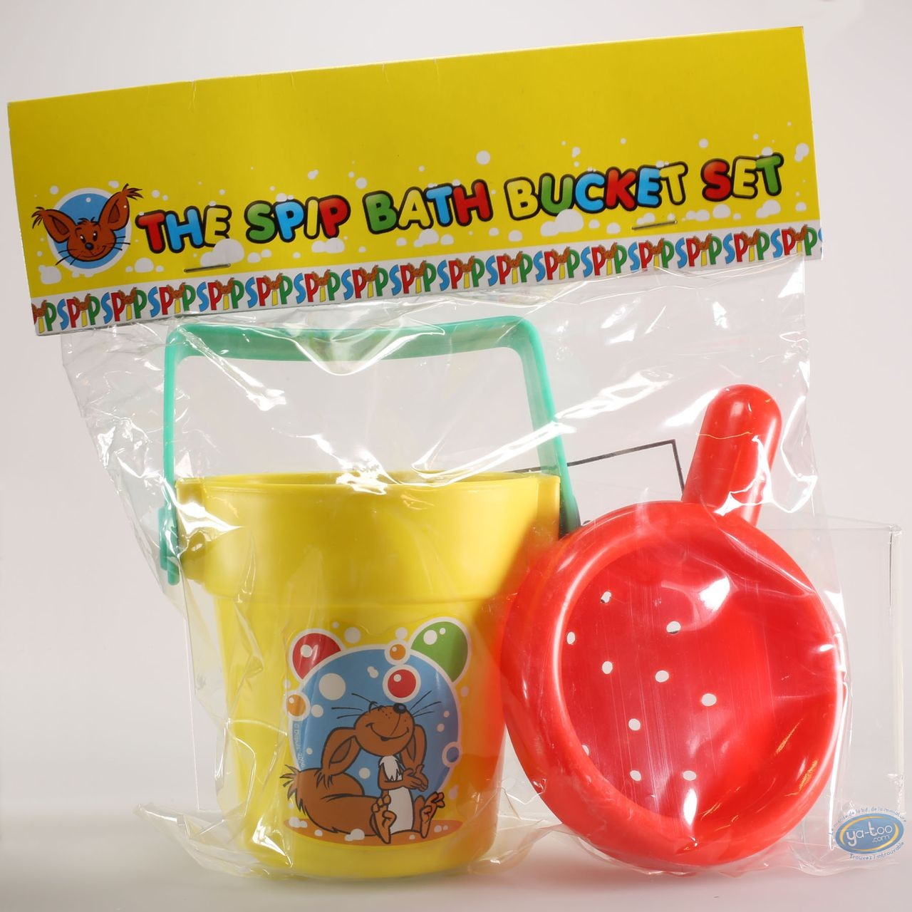 Toy, Spip : The Spip bath bucket set