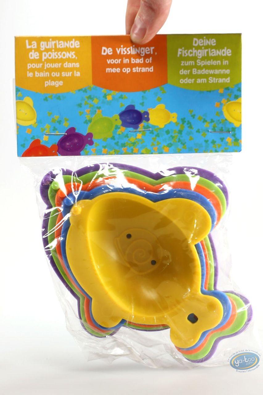 Toy, Fish garland for bath or beach