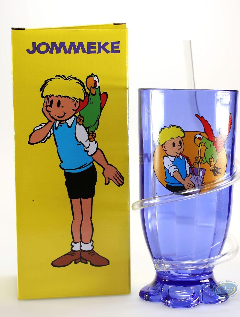 Toy, Gil et Jo : Gil et Jo : Glass + straw Jomeke