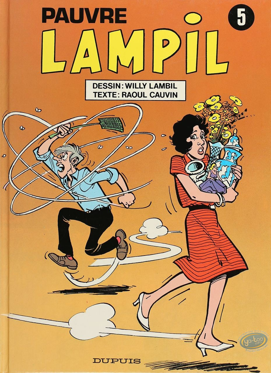 Listed European Comic Books, Pauvre Lampil : Pauvre Lampil