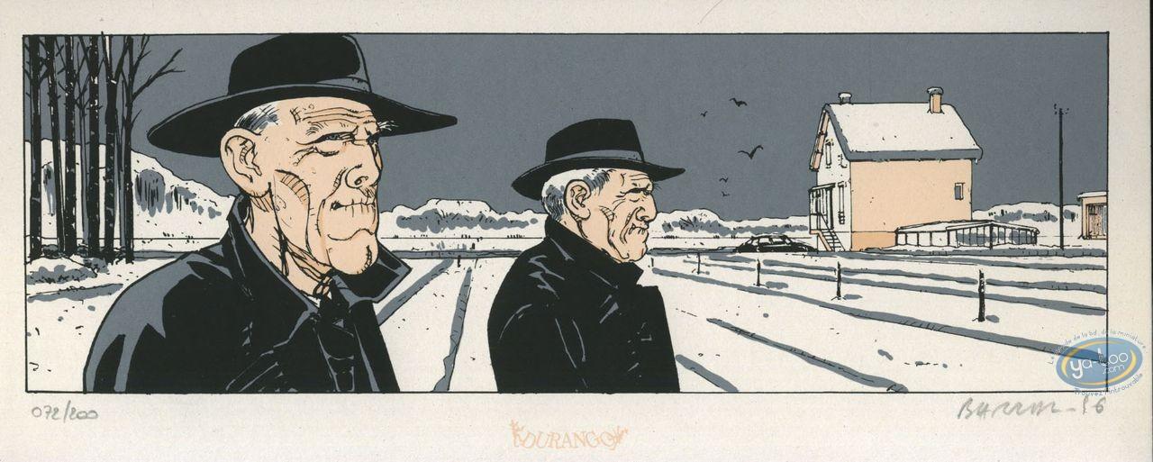 Bookplate Serigraph, Ailes de Plomb (Les) : Duo