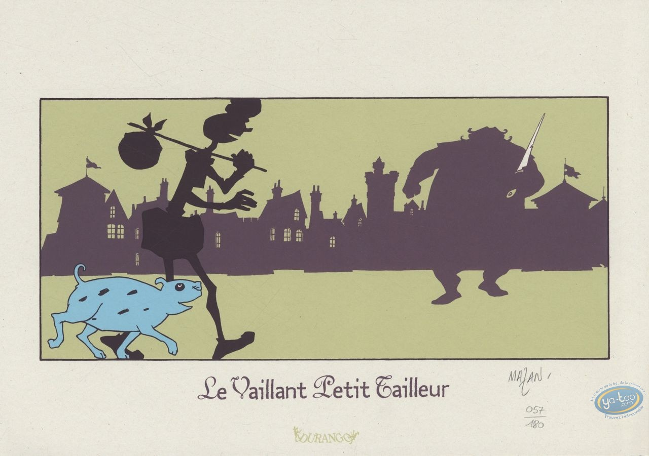 Bookplate Serigraph, Vaillant Petit Tailleur (Le) : Street