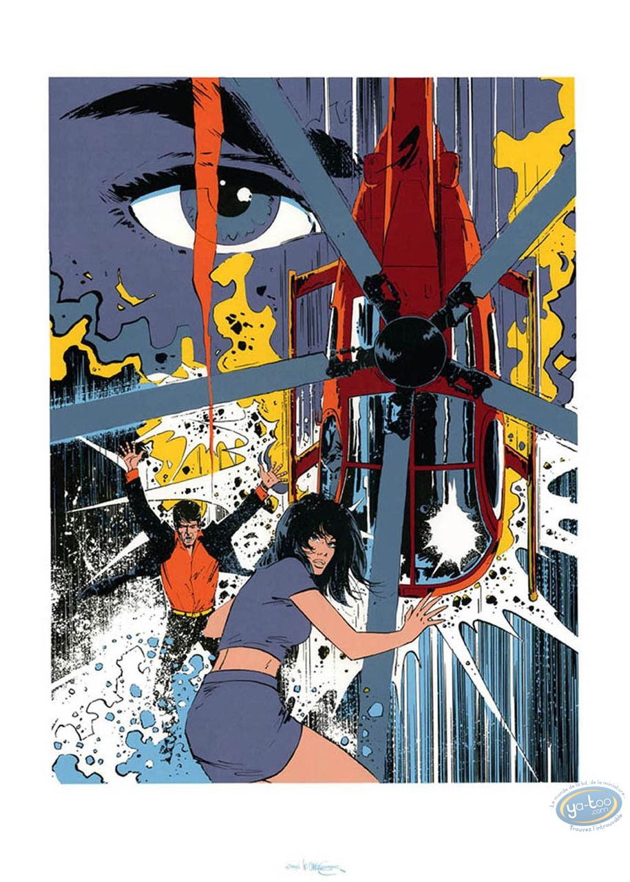 Serigraph Print, Mission Impossible : Mission impossible