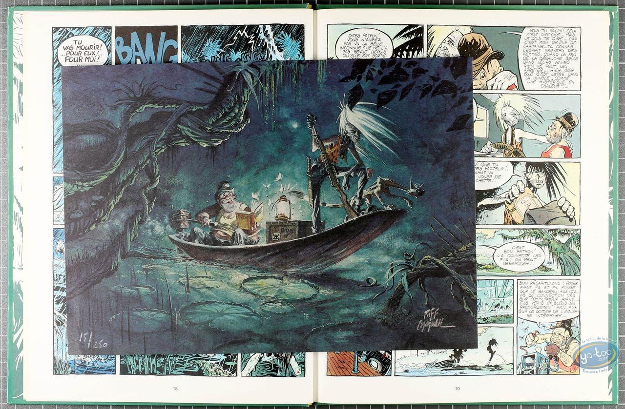 Listed European Comic Books, Sergei Wladi : Le Bal de la Sueur (dedication + bookplate)