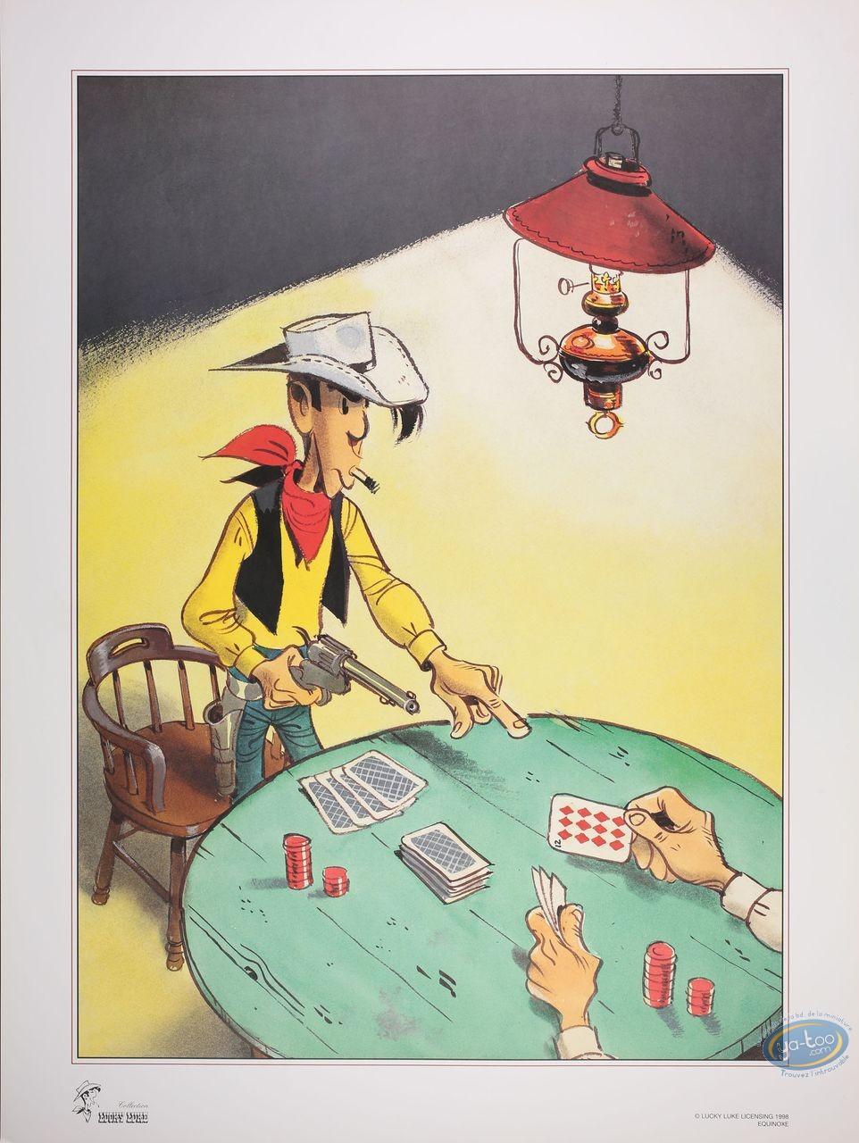 Offset Print, Lucky Luke : Poker (big)