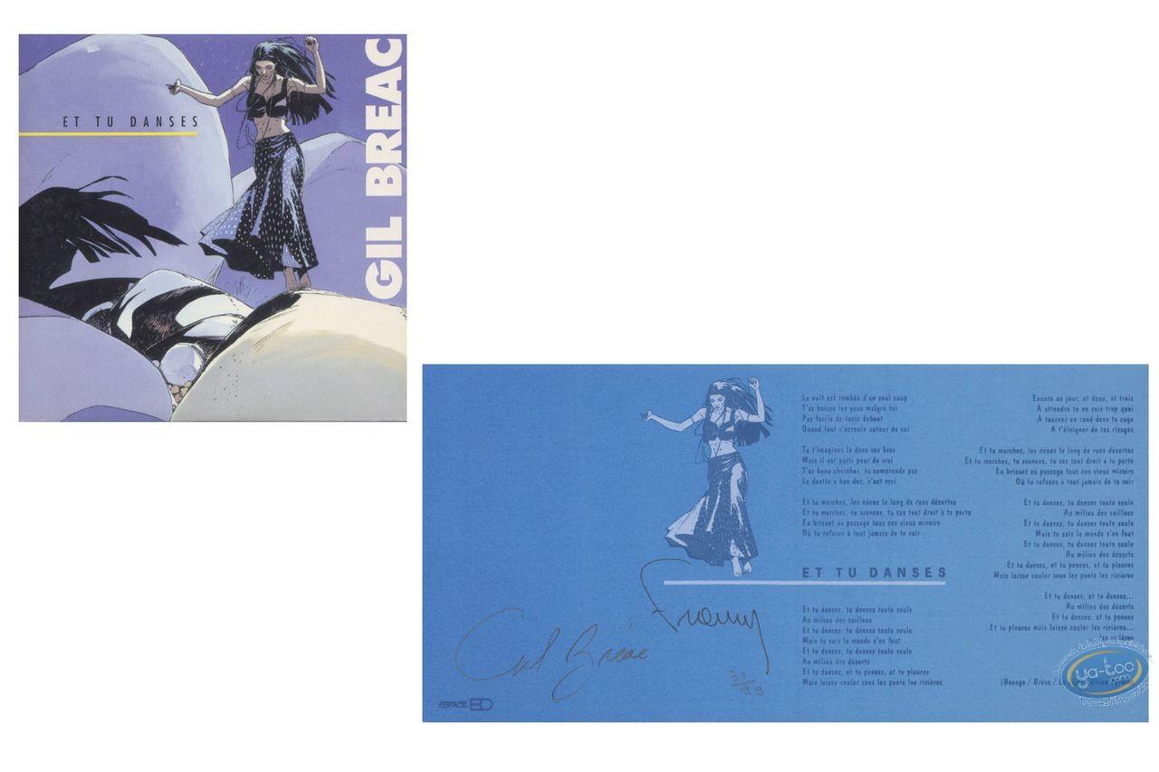 Bookplate Offset, Et tu Danses : Et tu danses