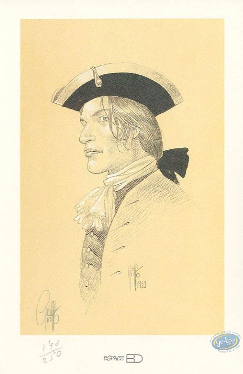 Bookplate Offset, Giacomo C. : Portrait