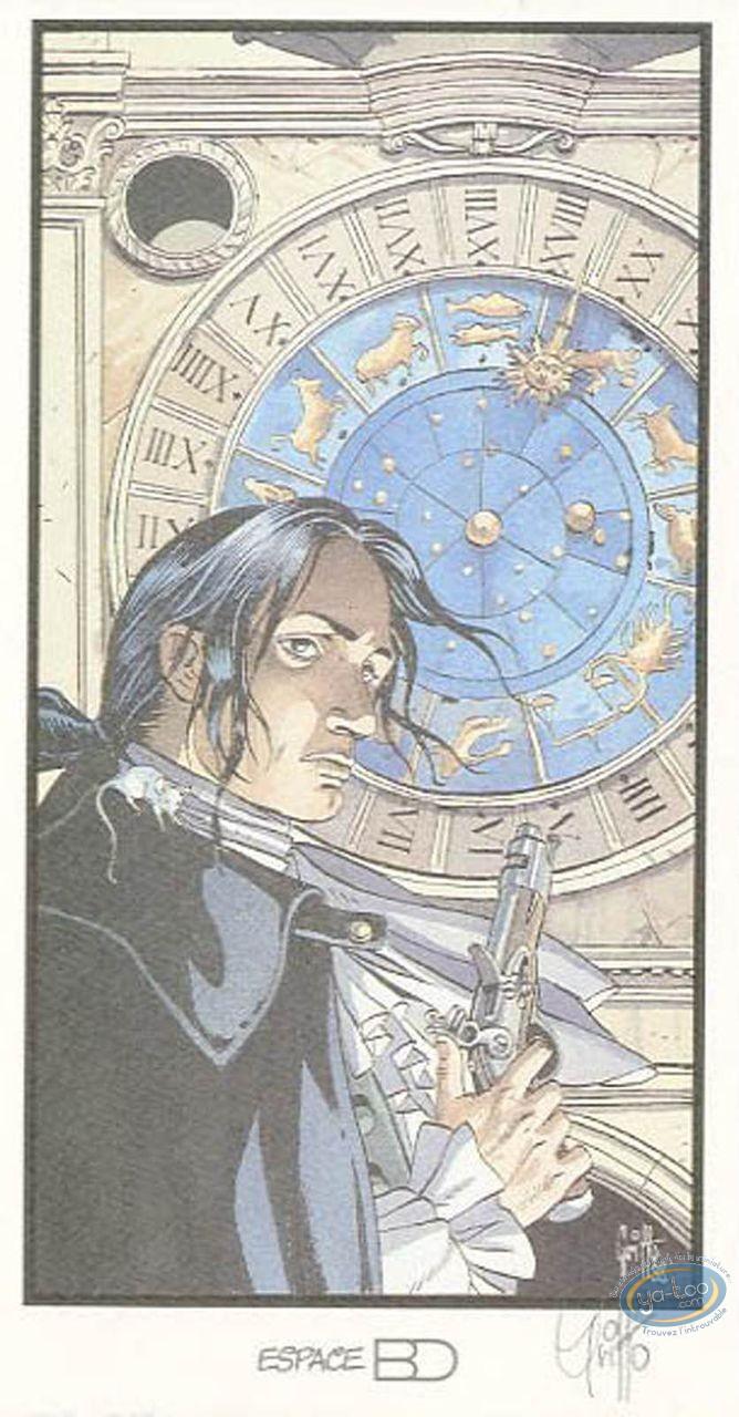 Bookplate Offset, Giacomo C. : Clock