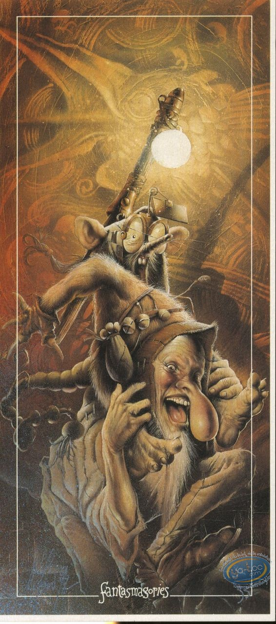 Bookplate Offset, Graine de Folie (La) : Imp & Mouse