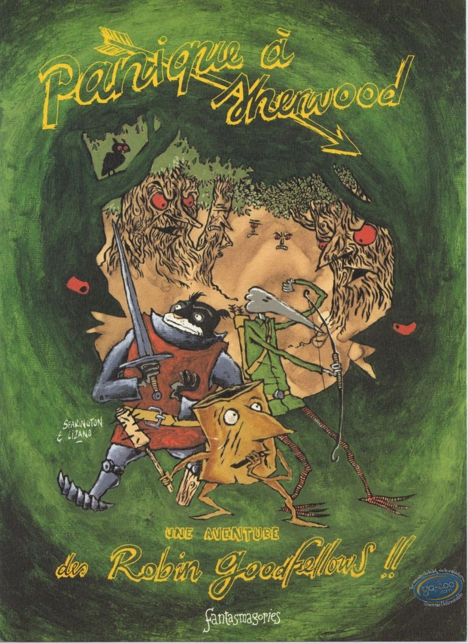 Bookplate Offset, Robin Goodfellows (Les) : Panic at Sherwood