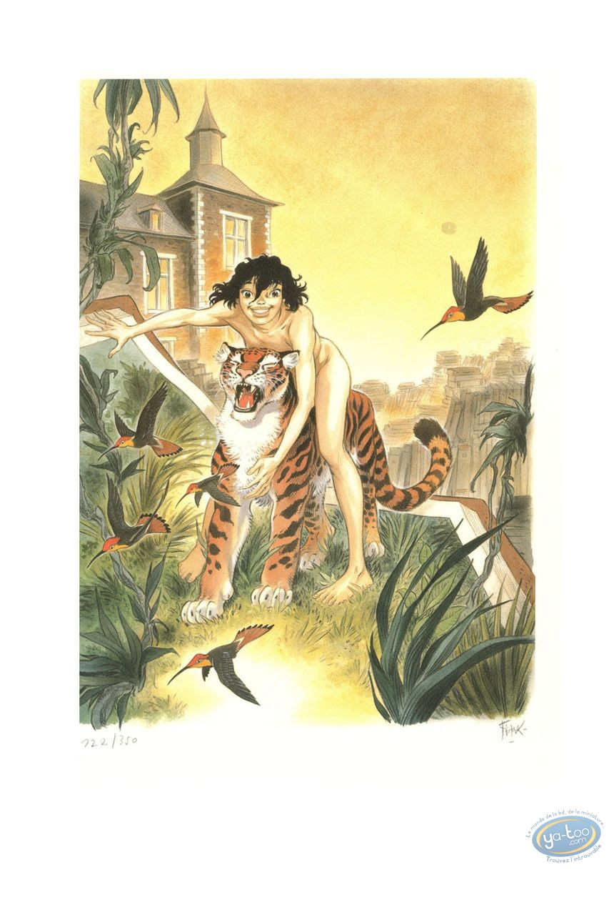 Offset Print, Zoo : Manon & Panther