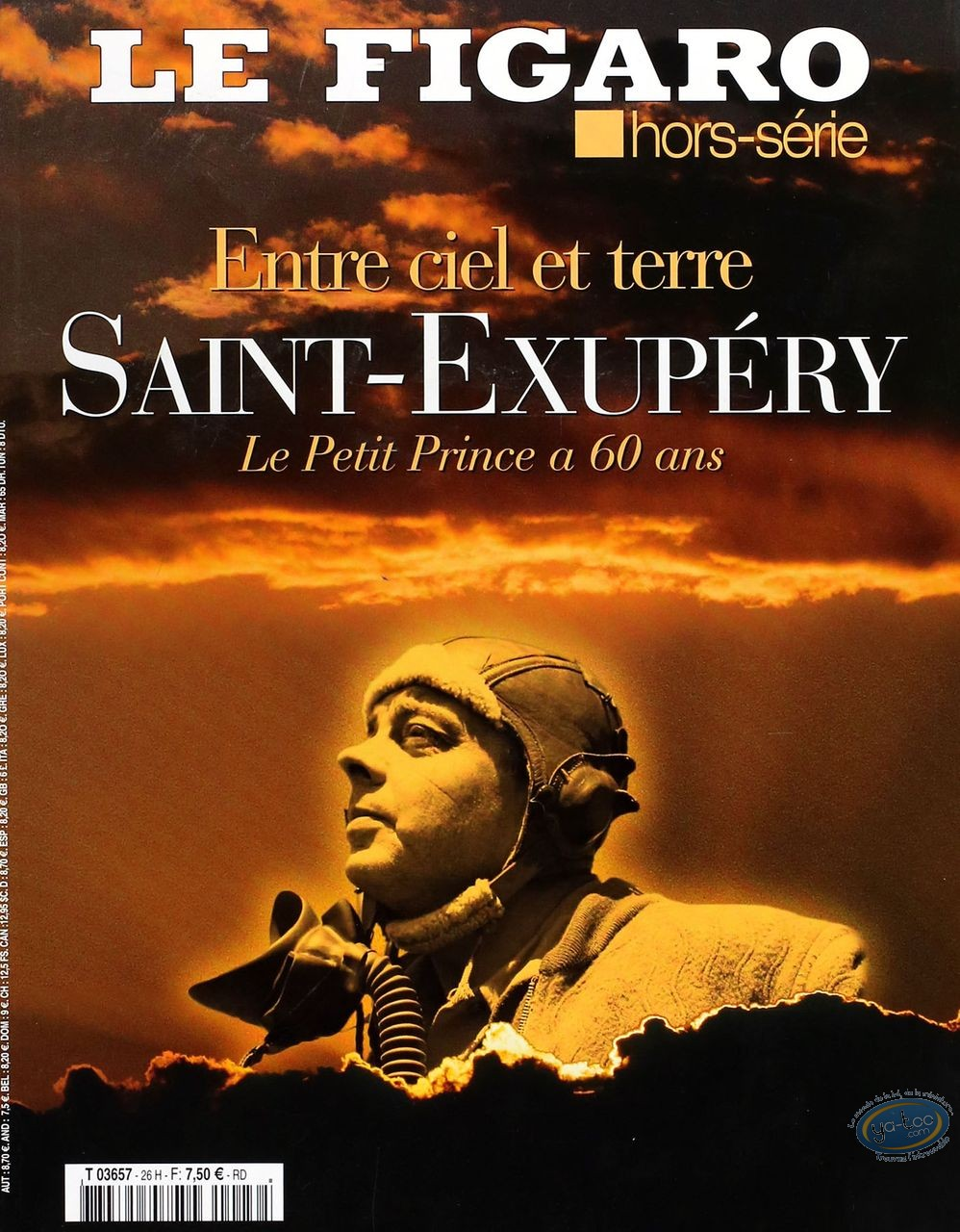 European Comic Books, Corto Maltese : Saint-Exupéry
