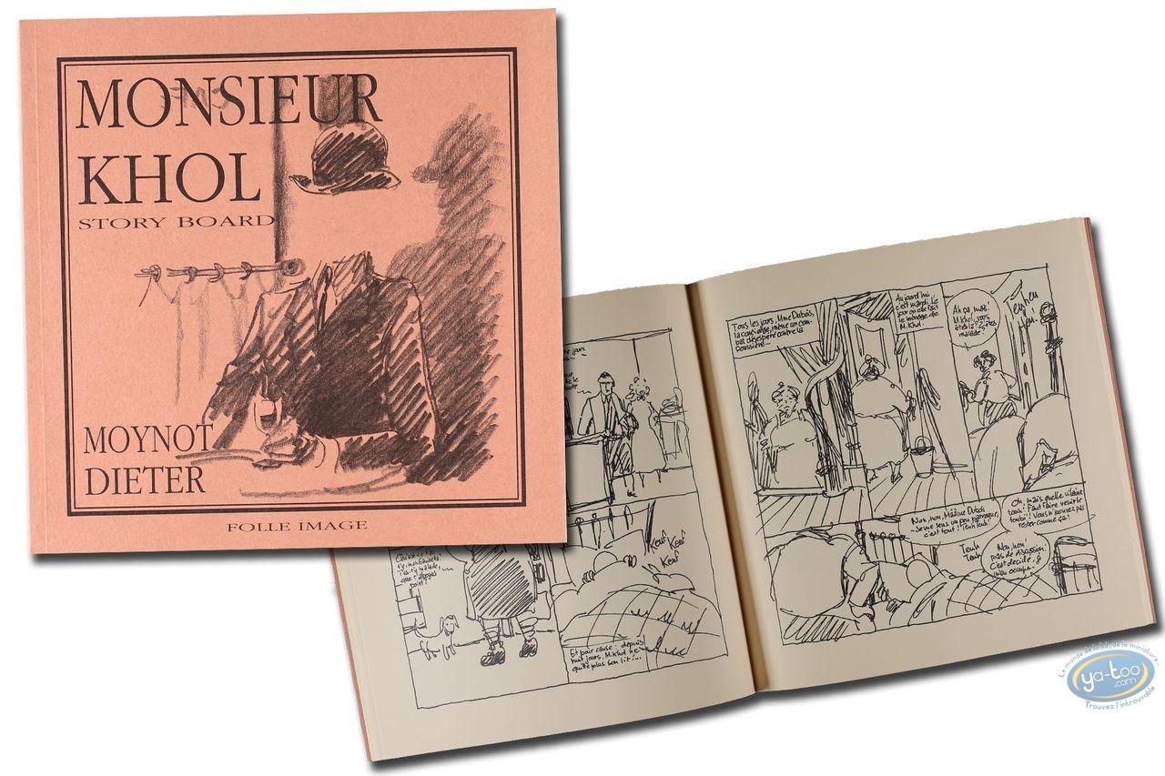Portfolio, Monsieur Khol : story board (not signed)